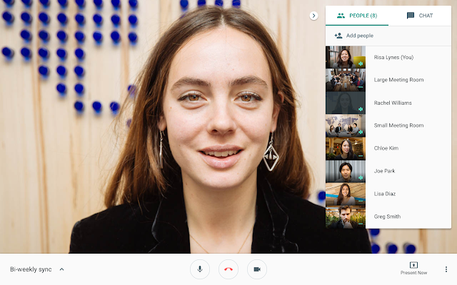 Google Hangouts Meet Smart Working